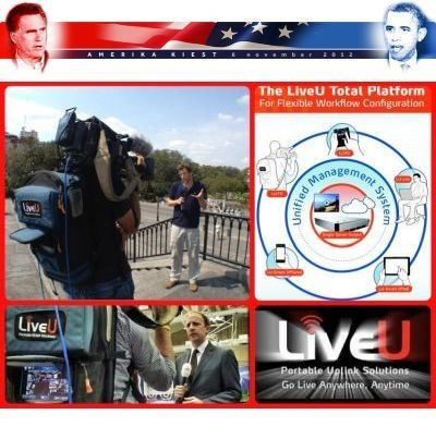 Nieuwsuur & NOS cover the American Presidential Elections with LiveU