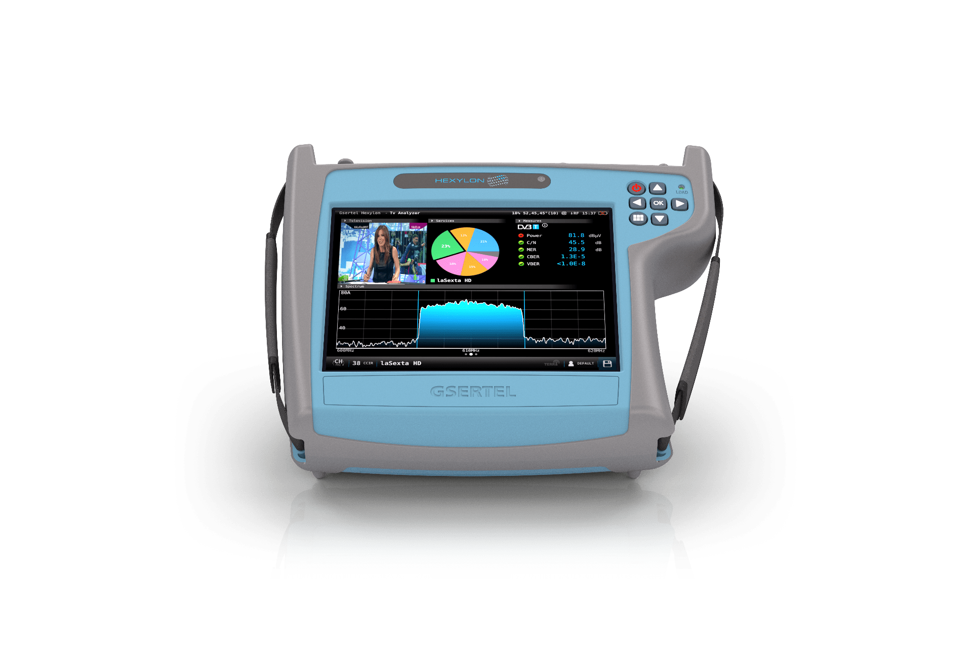 Measure, analyse and diagnose radio and TV signals in any scenario