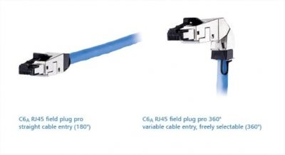C6A RJ45 with variable cable entry - Robust, High-Performance and Reliable