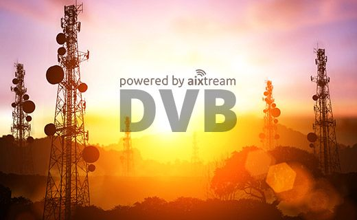 Ferncastaixtream 2.2 software now with major additions to its DVB functionality