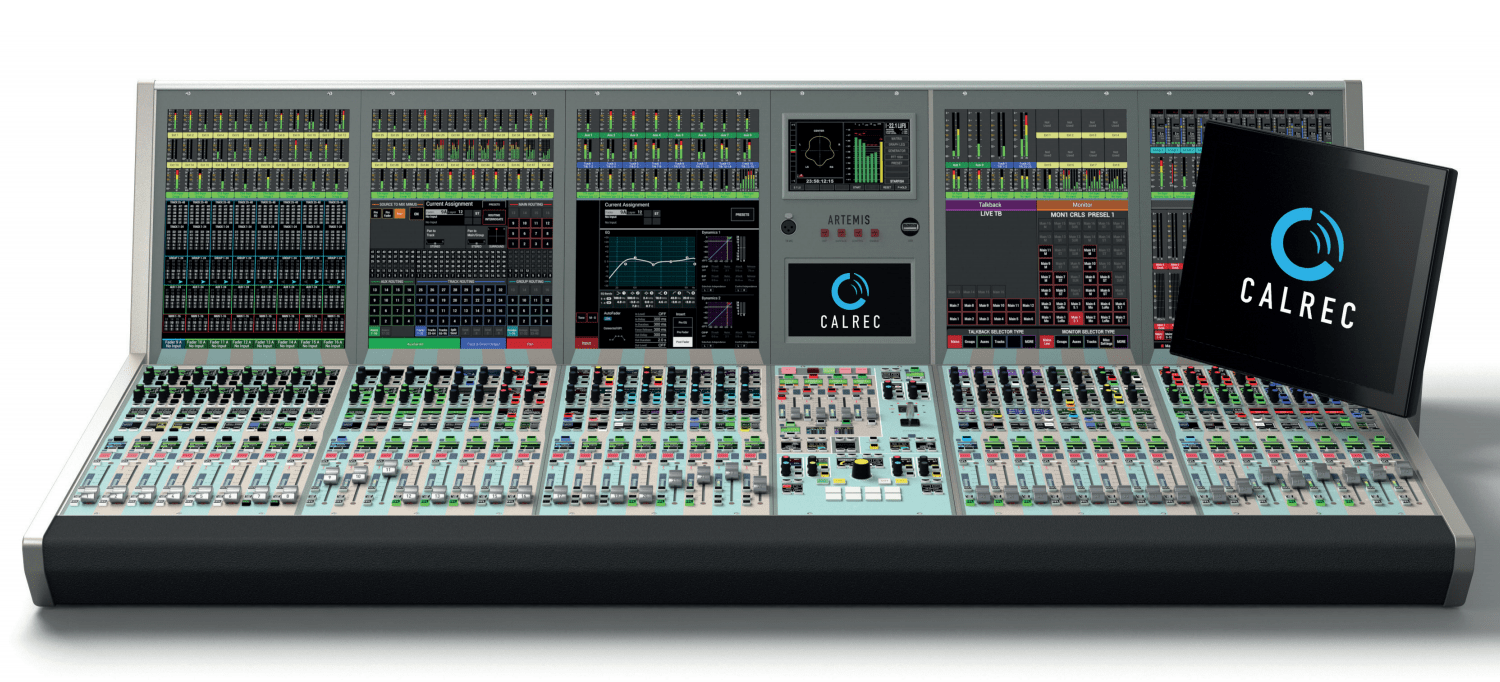 Calrec Artemis: an audio console for live on-air use has to be both extremely reliable, and easy to operate.
