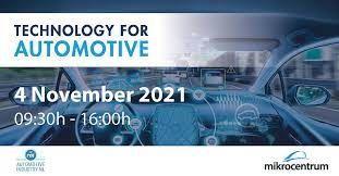 Technology for Automotive 2021, Veldhoven