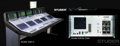 Studer's New Infinity Series Processing Engine and Vista X Console Featuring Groundbreaking DSP Technology