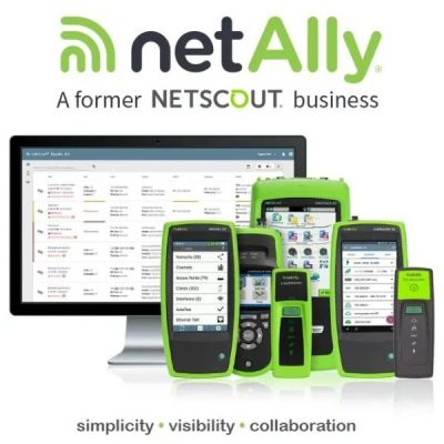 LinkRunner and AirCheck now with NetAlly