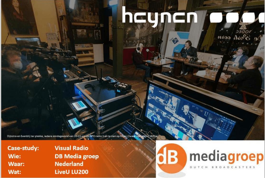 Visual Radio verrijkt radio programma's en vergroot het bereik