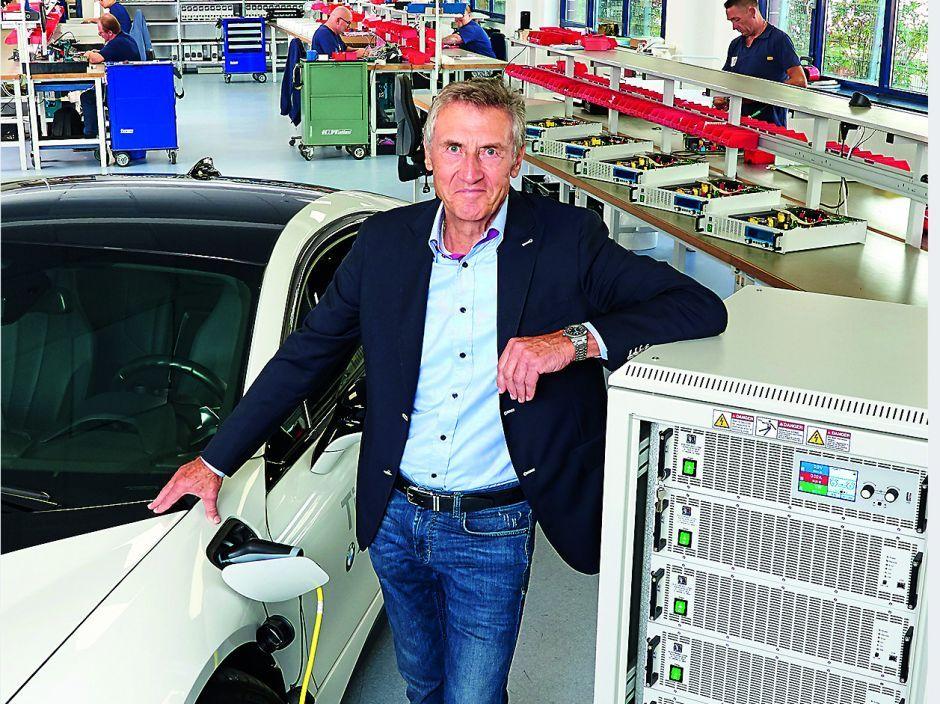 Bidirectional power supplies EA-PSB 10000 30KW