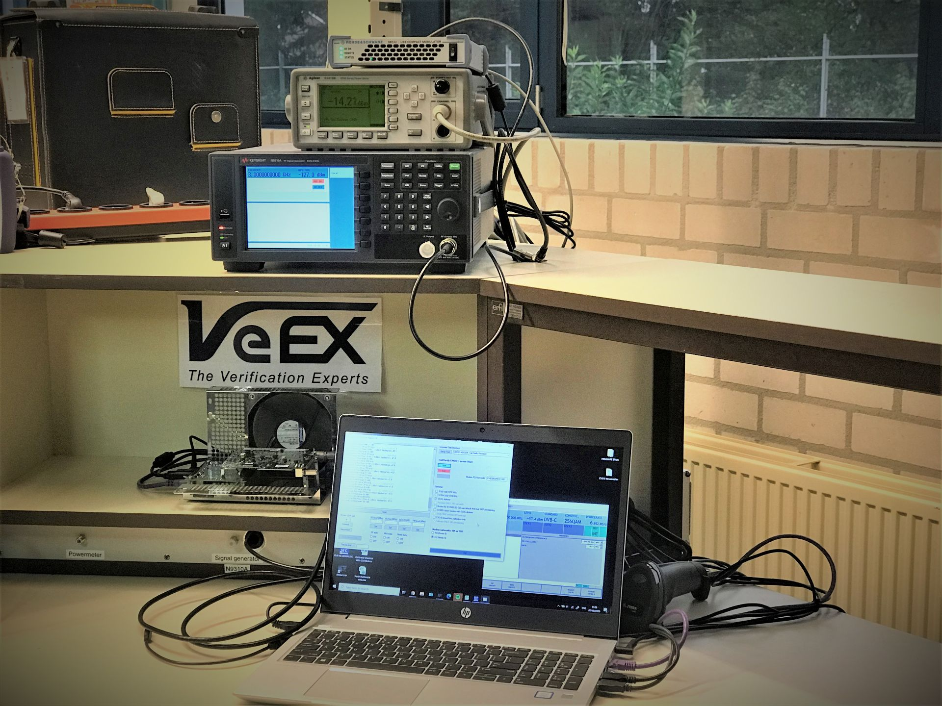 Heynen, your partner for maintaining, repairing and calibrating VeEX equipment