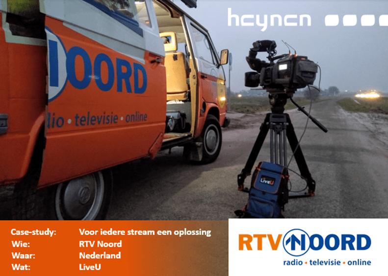 RTV Noord; voor iedere stream een passende oplossing