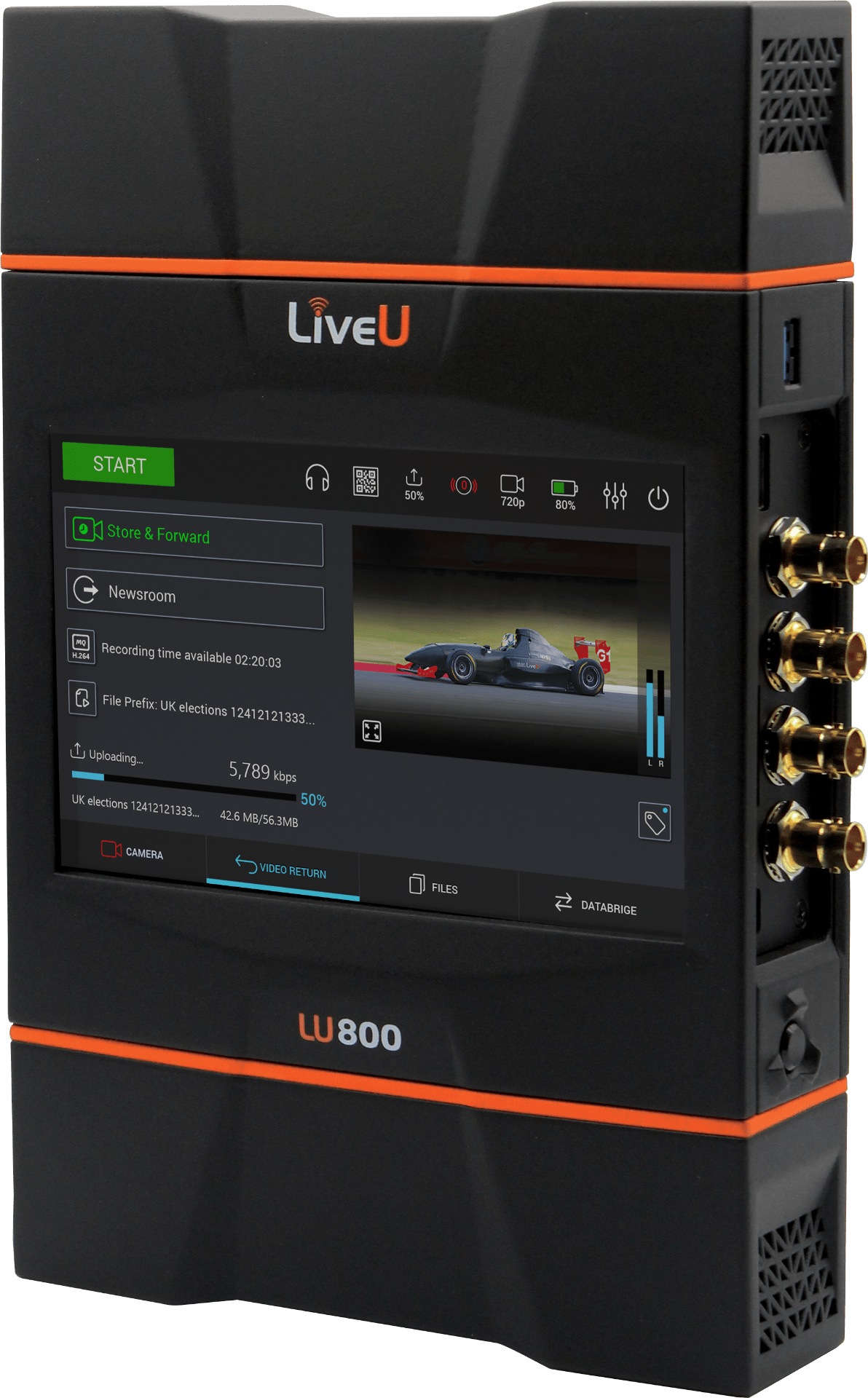 LiveU LU800 The First Sports Production Level Field Unit