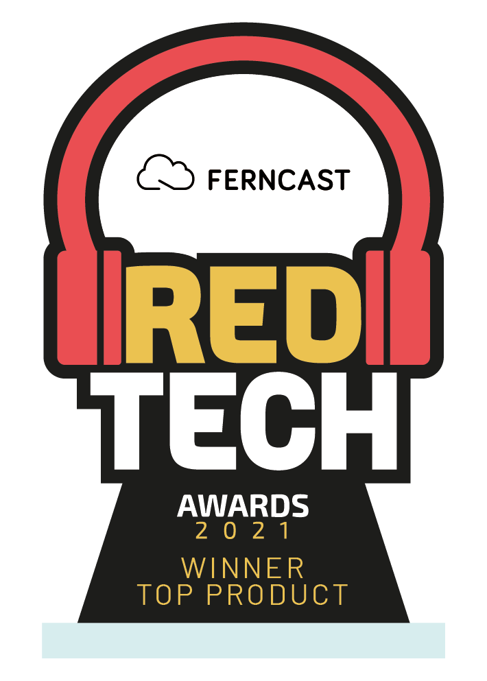 Ferncasts software solution aixtream™️ Wins RedTech Top Product Award during 2021 Radio Week