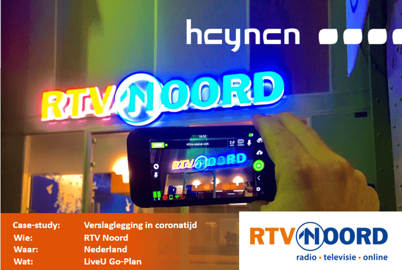 Verslaglegging in coronatijd, bij RTV Noord