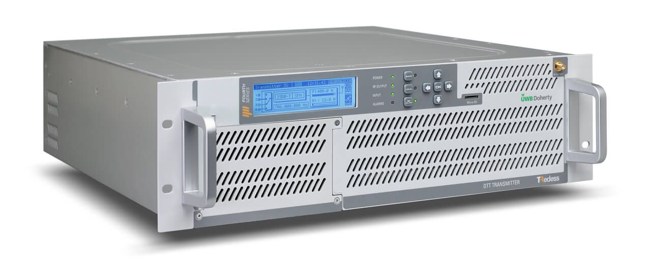 TRedess Fourth Series Low Power air cooled UHF and VHF Transmitters, Translators/Transposers and Gap Fillers
