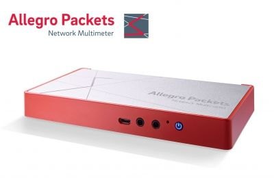 Powerful portable network protocol analyzer with ringbuffer capability - Allegro Network Multimeter