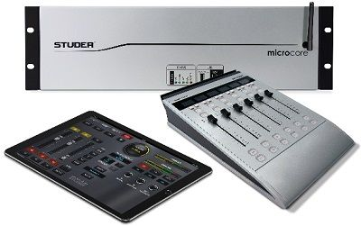 Studer Micro Series, The Flexible All-in-one Broadcast Digital Audio Mixing System