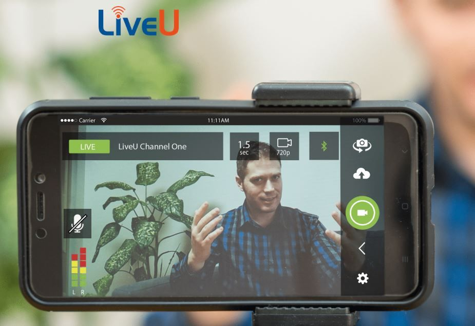 Multiply your live coverage opportunities with LU-Smart Smart-App from LiveU