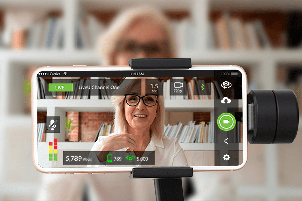 Professional Home Journalism and LiveU LU-Smart App
