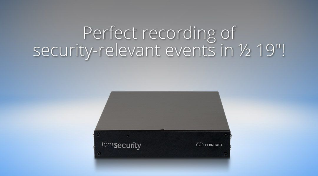 Newest update for Ferncast fernSecurity