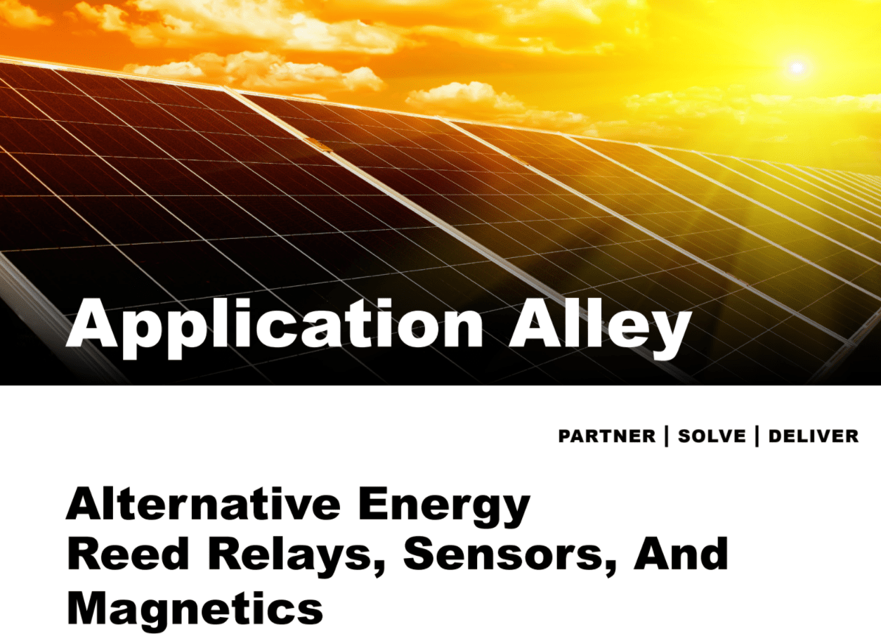 Application Alley: Alternative Energy – Reed Relays