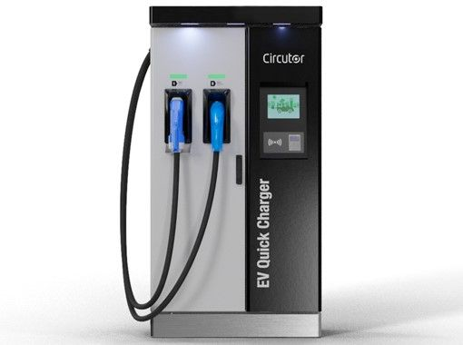 A compact charger capable of providing up to 100 kW DC, enough to charge the electric vehicles of yesterday, today and tomorrow