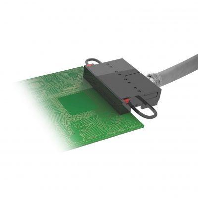 The Ethernet-compatible gigabit terminal block