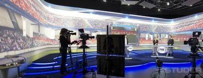 Endemol Sport Studios Back Studer Vista 5 Digital Consoles
