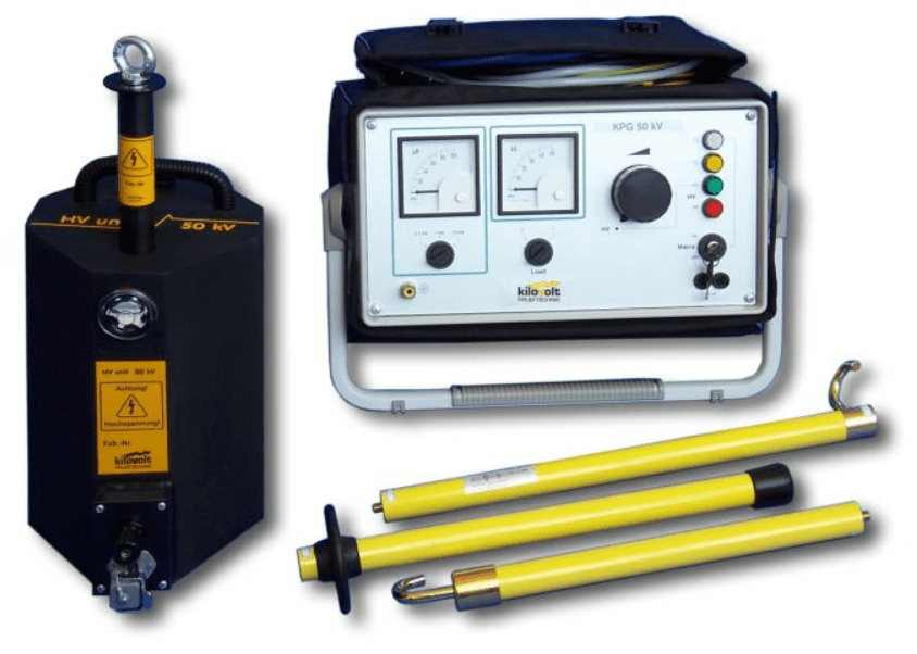 Cable Test Set for DC voltage testing of Medium Voltage Power Cables