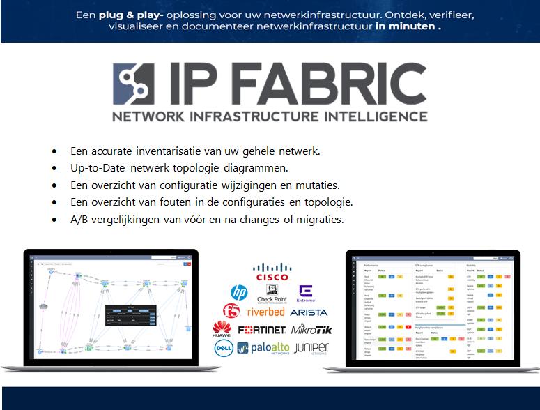 IP Fabric - Geautomatiseerde discovery, visualisatie, verificatie en documentatie
