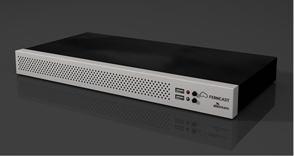 fernStudio light powered by aixtream – An affordable 2 channel professional codec with new white design
