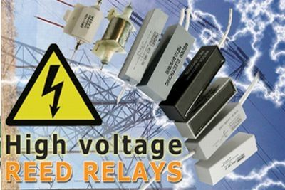 Powerful High Voltage / High Current reed relais