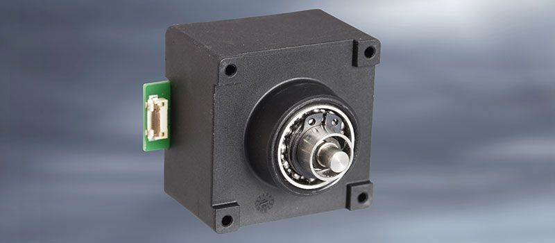 Double rotary encoder with push button function as compact HMI operating solution from EBE