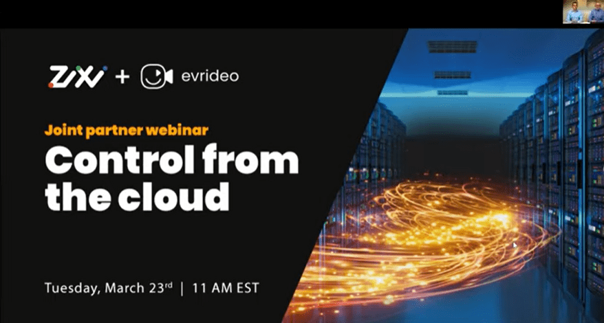 Control from the Cloud with Evrideo